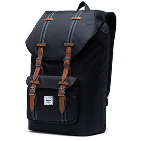 Herschel Little America Sac à dos, black/black/tan